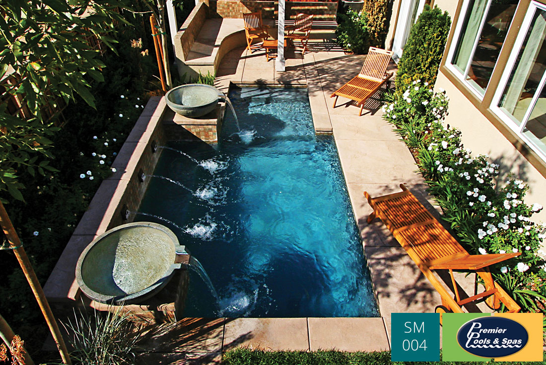 Marvelous Examples Of Small Swimming Pool Designs