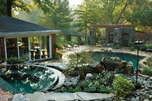 Pool-and-detached-spa-with-rock-garden_Elite-Concepts