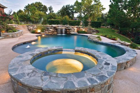 Attached Spa Design Ideas for Your Pool - Premier Pools & Spas
