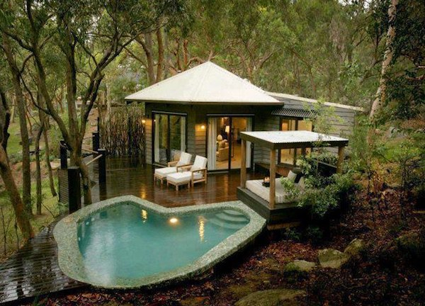 Tiny Homes And Small Pools Premier Pools Spas Pool Builders And Contractors