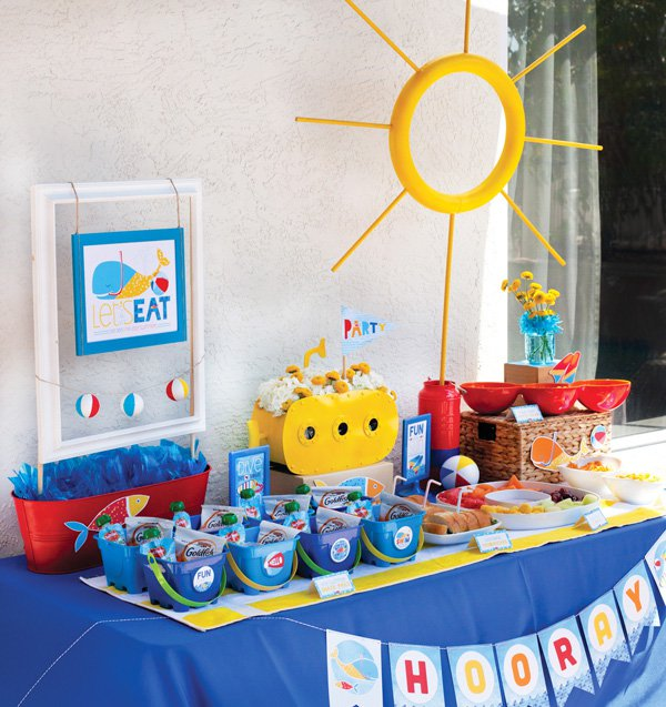 Your diy miami pool party for the kids premier pools spas Ideas for swimming pool birthday party