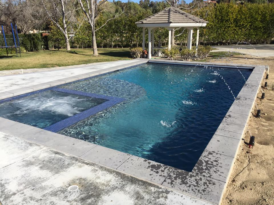Santa clarita pool construction premier pools spas Fiberglass swimming pool installation