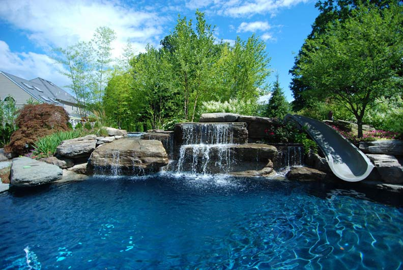 Breathtaking Pools With Waterfalls - Premier Pools & Spas