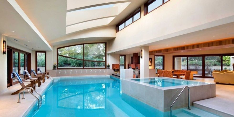beautiful house with pool