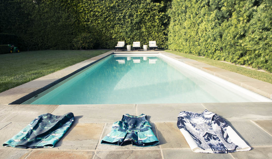 Monique lhuillier swimming pool
