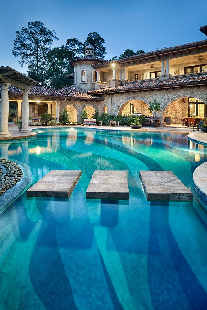 Pool design design a pool in new orleans for the new year for Pool design new orleans