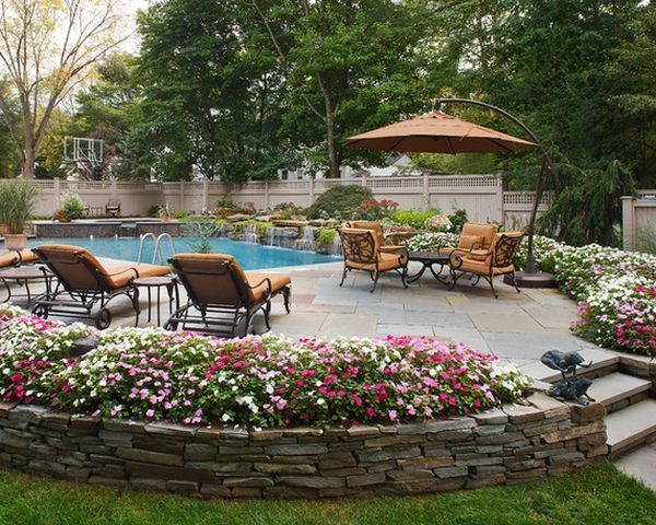 Flowers And Pools