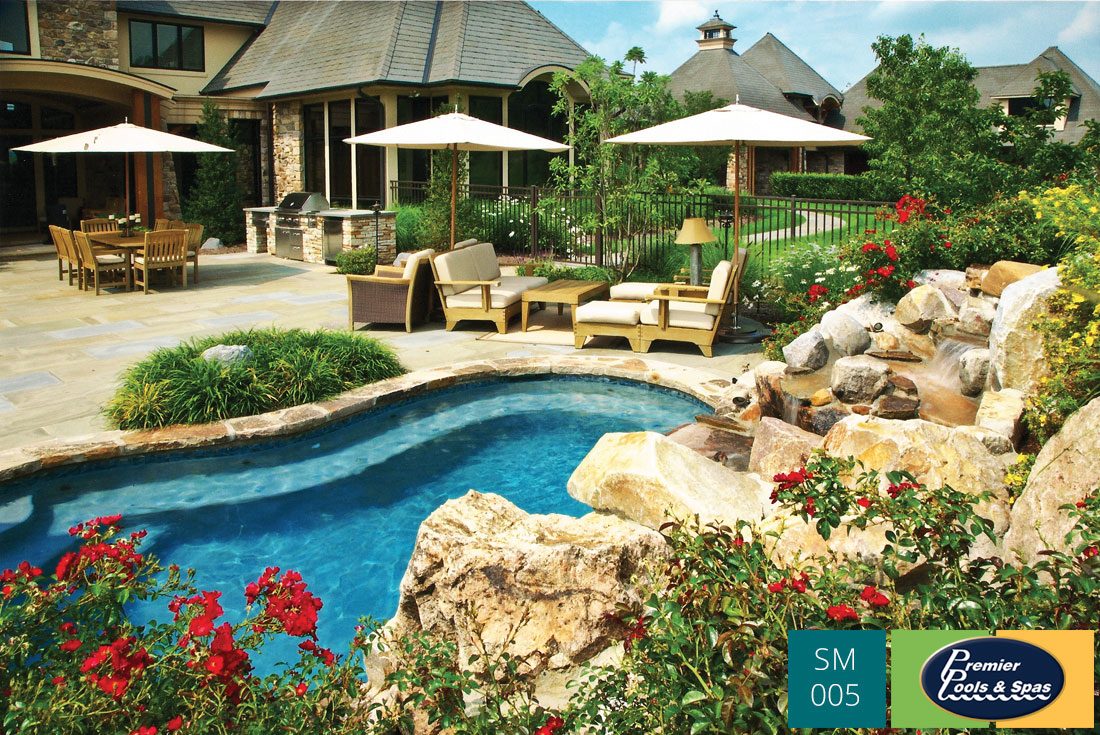 Charlotte pool landscaping