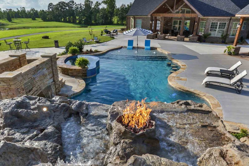 Landscape Ideas Around Pool In Salt Lake City Premier Pools Spas Pool Builders And Contractors