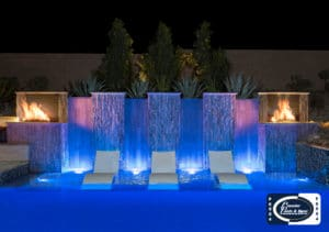 Pool Light Features